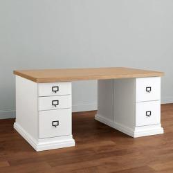 Zinc Top - Partners Desk - Ballard Designs found on Bargain Bro Philippines from Ballard Designs for $1599.20