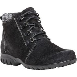 Haband Women's ProptDelaney, Black Suede, Size 7.5 X found on Bargain Bro Philippines from Haband for $79.99