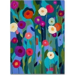 Trademark Fine Art Good Morning Sunshine Canvas Wall Art, Blue, 24X18 found on Bargain Bro Philippines from Kohl's for $82.99