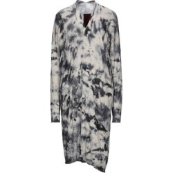 Overcoat - Gray - Masnada Coats found on MODAPINS from lyst.com for USD $345.00