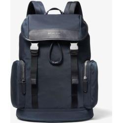 Hudson Logo Nylon Gabardine Backpack - Blue - Michael Kors Backpacks found on MODAPINS from lyst.com for USD $298.00