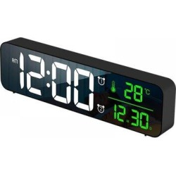 Ivy Bronx LED Digital Alarm Clocks For Bedrooms Bedside w/ Snooze Digital Clock For Heavy Sleepers Dual Clock w/ USB Charger in Black   Wayfair found on Bargain Bro Philippines from Wayfair for $66.99