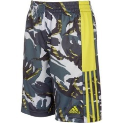 adidas Boys' Active Shorts HALO - Halo Silver Camo Logo Athletic Shorts - Boys found on Bargain Bro Philippines from zulily.com for $14.99