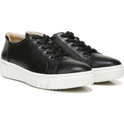 Topaz Perforated Platform Sneaker - Black - SOUL Naturalizer Sneakers found on Bargain Bro India from lyst.com for $70.00