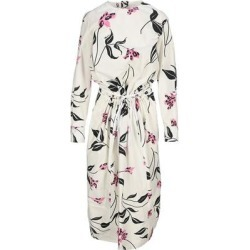 Floral Print Midi Dress - Pink - Marni Dresses found on MODAPINS from lyst.com for USD $688.00