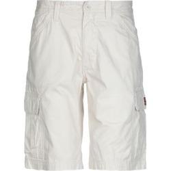 Bermuda Shorts - White - Napapijri Shorts found on MODAPINS from lyst.com for USD $79.00
