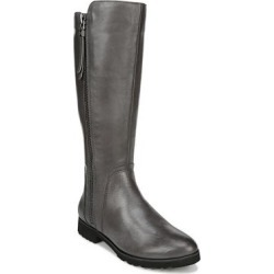 Naturalizer Women's Casual boots DRKGREYWC - Dark Gray Gael Leather Wide-Calf Boot - Women found on Bargain Bro India from zulily.com for $49.99