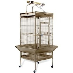 Prevue Pet Products Signature Select Series Wrought Iron Bird Cage in Coco Brown, X-Large