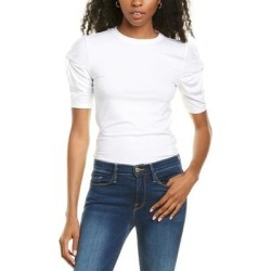 Frame Denim Twisted Sleeve Top (12), Women's, Multicolor found on MODAPINS from Overstock for USD $48.29