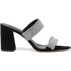 Sandals - Black - Alice + Olivia Heels found on MODAPINS from lyst.com for USD $195.00