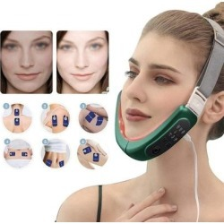 Face-Lift Device Slimming Therapy Vibration Belt Facial Chin Neck Anti-Wrinkle Beauty Massage Machine found on Bargain Bro from Overstock for USD $113.98