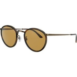 Ar 101m - Frame Color: Tortoise, Lens Color: Brown, Size 50-22/145 - Brown - Giorgio Armani Sunglasses found on Bargain Bro India from lyst.com for $307.00
