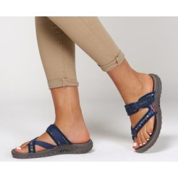 Skechers Women's Reggae - Mad Swag Sandals, Navy, 7.5 found on Bargain Bro Philippines from SKECHERS.com for $46.00