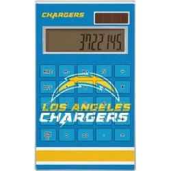 Los Angeles Chargers Stripe Design Desktop Calculator found on Bargain Bro from nflshop.com for USD $22.79