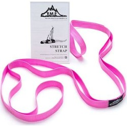 Black Mountain Products Exercise Balls Pink - Pink Stretch Strap & Instruction Guide found on Bargain Bro Philippines from zulily.com for $8.99