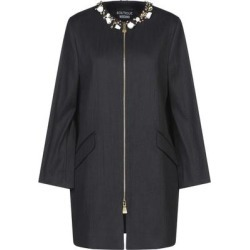 Overcoat - Black - Boutique Moschino Coats found on MODAPINS from lyst.com for USD $730.00