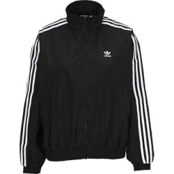 Logo Print Track Jacket - Black - Adidas Originals Jackets found on Bargain Bro India from lyst.com for $66.00