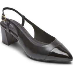 Rockport Women's Pumps SL - Black Salima Leather Slingback Pump - Women found on Bargain Bro India from zulily.com for $39.99