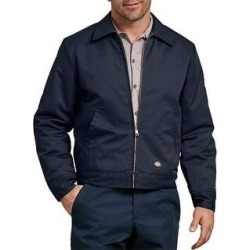 Dickies Men's TJ15 Insulated Eisenhower Zip Up Jacket (Dark Navy (DN) - 4XL), Blue(cotton) found on Bargain Bro Philippines from Overstock for $47.01