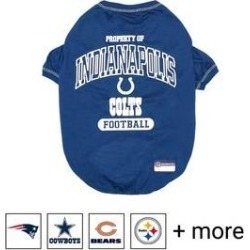 Pets First NFL Dog T-Shirt, Indianapolis Colts, X-Small found on Bargain Bro India from Chewy.com for $8.78