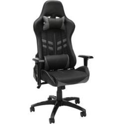 Essentials by OFM ESS-6065 Racing Style Gaming Chair in Gray - OFM ESS-6065-GRY found on Bargain Bro Philippines from totally furniture for $181.97