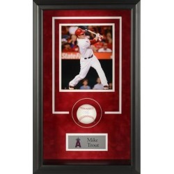 Mike Trout Los Angeles Angels Fanatics Authentic Framed Autographed Baseball Shadowbox found on Bargain Bro Philippines from Fanatics for $999.99