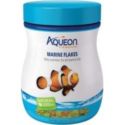 Aqueon Marine Flakes Fish Food, 1.02 oz.