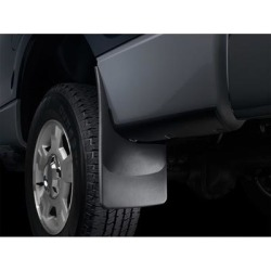 WeatherTech Mud Flap, Fits 2017-2019 GMC Acadia, Primary Color Black, Material Type Molded Plastic, Model 120067 found on Bargain Bro Philippines from northerntool.com for $44.95