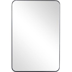 Rectangular Deep Metal Frame Mirror - Camden Isle Furniture 86612 found on Bargain Bro Philippines from totally furniture for $128.99