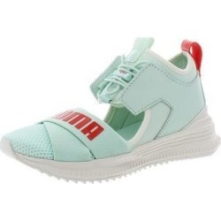 Puma Womens Fenty Avid Sneakers Fitness Performance (Bay/Cherry Tomato/Vanilla Ice - 6 Medium (B,M)), Women's, Bay/Red Red/White White found on Bargain Bro from Overstock for USD $45.11