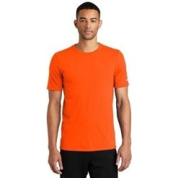 Nike Men's DRI-FIT Poly/Cotton Tee (XS - Orange) found on Bargain Bro India from Overstock for $28.97