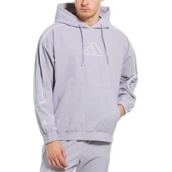 Adidas Hrd Cu Hoodie (M), Men's, Gray(polyester, embroidered) found on Bargain Bro Philippines from Overstock for $43.56