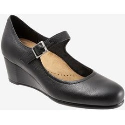 Women's Willow Wedge by Trotters in Black (Size 7 1/2 M) found on Bargain Bro India from Woman Within for $119.99