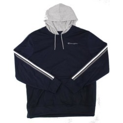 Champion Mens Hoodie Blue Size 2XL Track Kangaroo-Pocket Drawstring (2XL), Men's(polyester) found on Bargain Bro Philippines from Overstock for $28.98