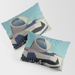 Soviet Modernism: Youth Metro Station In Yerevan, Armenia King Size Pillow Sham by Nvard Yerkanian - STANDARD SET OF 2 - Cotton