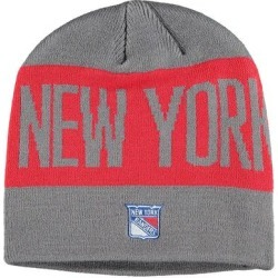 New York Rangers adidas Sport City Above Beanie - Gray found on Bargain Bro India from Fanatics for $17.50