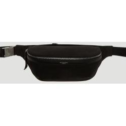 Canvas Belt Bag - Black - Saint Laurent Belt Bags found on Bargain Bro from lyst.com for USD $465.12