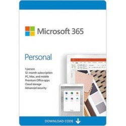 Microsoft 365 Personal 1-User License / 12-Month Subscription / Download QQ2-00021 found on Bargain Bro Philippines from B&H Photo Video for $69.99