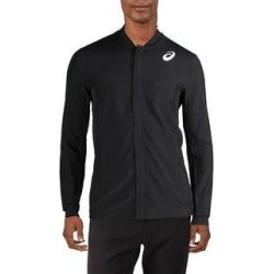 Asics Mens Athletic Jacket Fitness Workout (Black - 2XL), Men's(polyester) found on MODAPINS from Overstock for USD $25.39