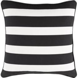 Porch & Den Floyd 18-inch Striped Throw Pillow Shell found on Bargain Bro from Overstock for USD $16.34