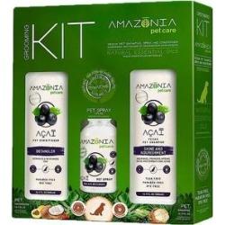 Amazonia Acai Dog & Cat Grooming Kit