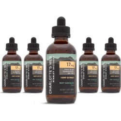 Charlotte's Web - Bulk Extra Strength Hemp Extract Oil - 100ml - Mint Chocolate found on Bargain Bro India from CW Hemp for $755.96