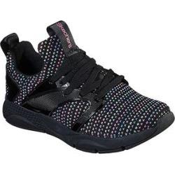 Skechers Girls' Sneakers BKMT - Black Sophisticated Shine Status Sneaker - Girls found on Bargain Bro India from zulily.com for $18.99