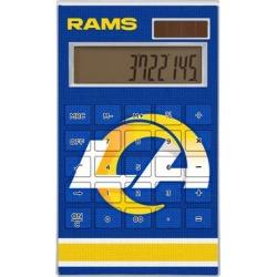 Los Angeles Rams Stripe Design Desktop Calculator found on Bargain Bro from nflshop.com for USD $22.79