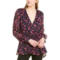 Vince Camuto Twilight Flower Top (12), Women's, Pink(polyester, metallic) found on Bargain Bro India from Overstock for $28.59