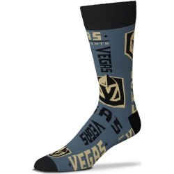 """""""For Bare Feet Vegas Golden Knights Wall to Crew Socks"""""""