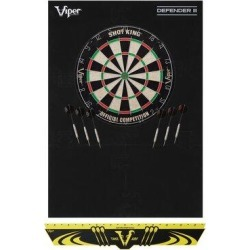 Viper Shot King Bristle Dartboard w/ Darts in Gray, Size 7.0 H x 24.0 W x 32.0 D in   Wayfair 41-9004 found on Bargain Bro Philippines from Wayfair for $96.77