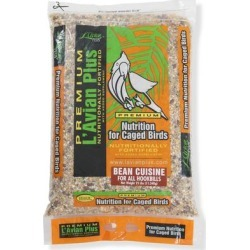 Premium L'Avian Plus Bean Cuisine Food for Hookbills, 25 lbs. found on Bargain Bro from petco.com for USD $47.11