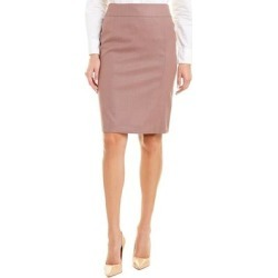 Hugo Boss Venuki Wool-Blend Pencil Skirt (10), Women's, Purple found on MODAPINS from Overstock for USD $87.99