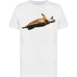 Sea Turtle With Extended Lins Tee Men's -Image by Shutterstock (XL), White